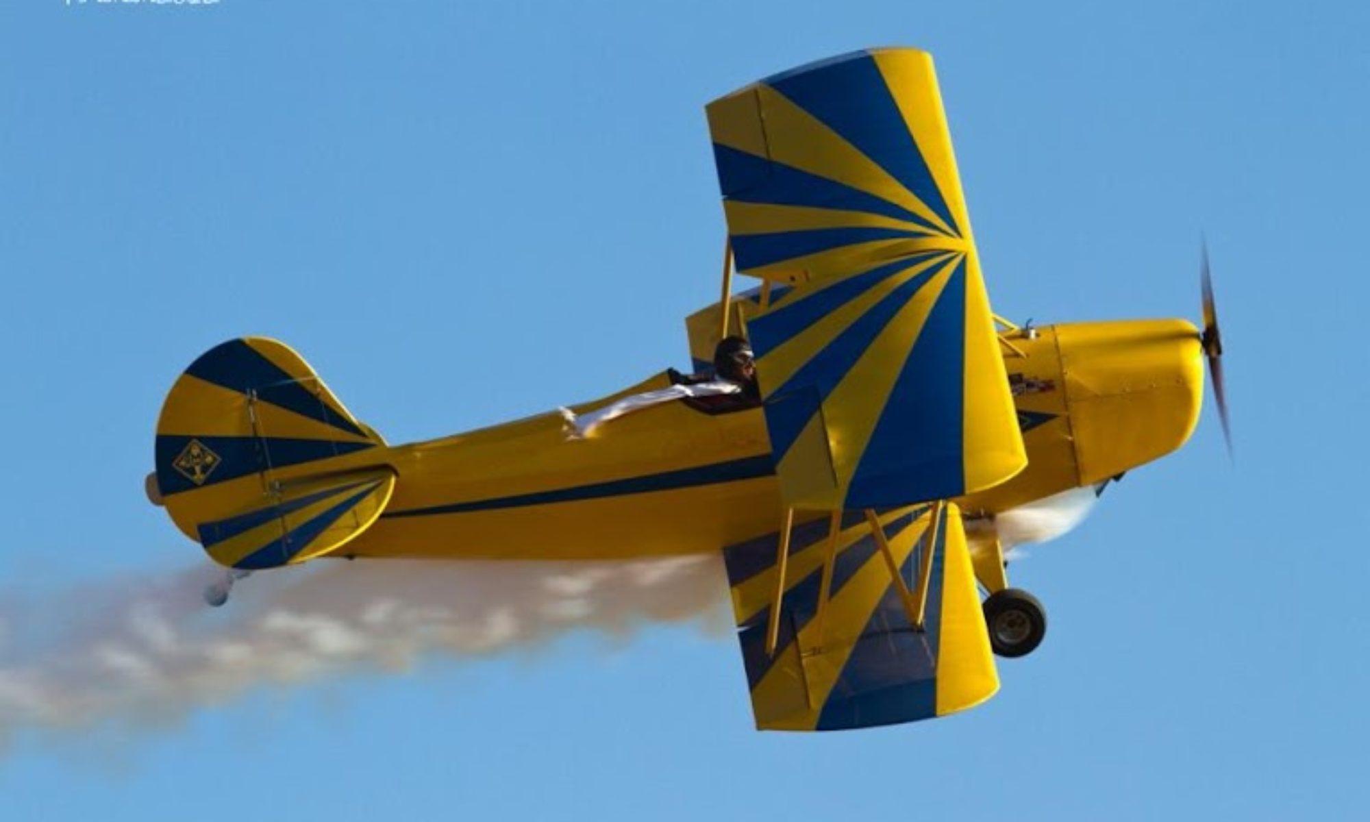 Dale's Biplane